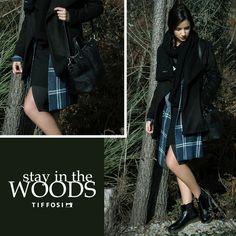 Stay in the Woods www.tiffosi.com  #tiffosi #tiffosidenim #lookbook #musthave #mood #look