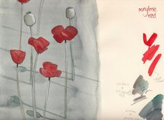 Lisbeth Zwerger-poppies.