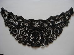 Venise Lace applique black | 0