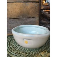 "Yellow Dot Series 7"" Serving Bowl : P'LOVERS"
