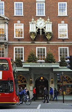 Fortnum and Mason at Christmas, I never miss going to this store when in London, England