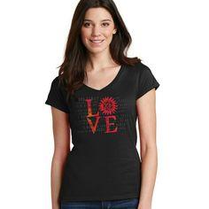 "Jensen Ackles, Jared Padalecki & Misha Collins' ""SPN Family Love"" Campaign https://www.creationstands.com/products/jensen-ackles-jared-padalecki-misha-collins-spn-family-love-campaign?variant=28565800449"