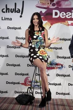 Adriana Lima – 'La Vida es Chula' by Desigual in Barcelona – June 2014