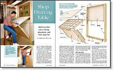 Shop Drafting Table