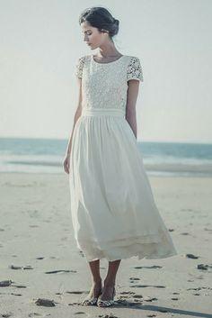 Trendy Wedding, blog idées et inspirations mariage ♥ French Wedding Blog: robe de mariée