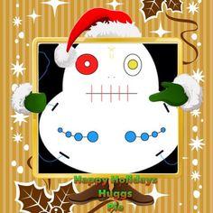 Eggeye says Happy Holidays from me  #creeps @creepsbycubbins