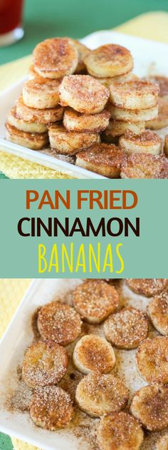 Pan Fried Cinnamon Bananas Pan Fried Cinnamon Bananas & and easy recipe for overripe bananas, perfect for a special breakfast or an afternoon snack! The post Pan Fried Cinnamon Bananas appeared first on Leanna Toothaker. Vegan Foods, Vegan Desserts, Paleo Diet, Eating Paleo, Clean Eating, Summer Desserts, Pku Diet, Vegan Sweets, Diet Foods