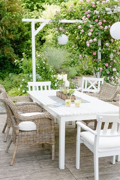 Interior Terrasse, Inspirationen für Terrassen- Einrichtung #terrasse #outdoorliving #outdoorfurniture