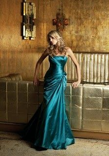 peacock bridesmaid dresses