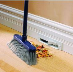 Discrete floor board vacuum!!!