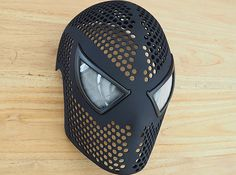 Spider-Man Face Shell (Size L) Mask Costume (XY6FLDFJ8) by SpideyPlanet