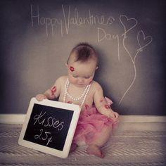 Baby Valentines Day photo