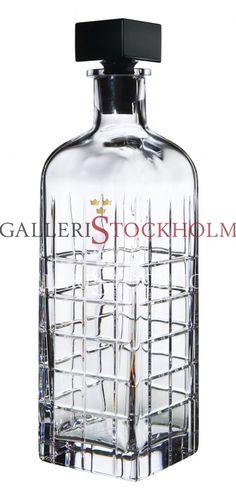 Jan Johansson - Kristallglas - Street - Karaff Orrefors Beställ här! Klicka på bilden.