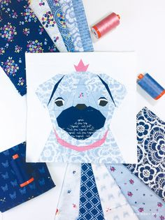Kid Giddy aka Kerry Goulder: Sewing Patterns, Crafts, DIY, Recipes and more: Unconventional Mini French Bull Dog Quilt and a Pug