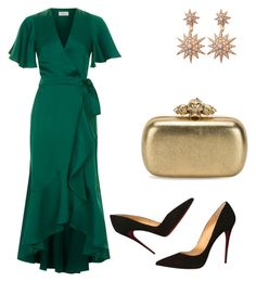 """""""Untitled #478"""" by style75 on Polyvore featuring Temperley London, Christian Louboutin and Alexander McQueen"""
