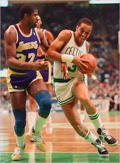 During his Boston Celtics run, Dennis Johnson teamed with his white ginger teammate Bill Walton to form the greatest ginger duo in sports history (no, Kane is not a ginger, so his tag team with the Undertaker would not take top billing).