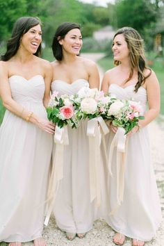 Find More Bridesmaid Dresses Information about 2015 New White Long Bridesmaid Dresses Formal Chiffon Wedding Party Bridesmaid Gown,High Quality gown ball dress,China gown protector Suppliers, Cheap dress bust from Hh-Dress on Aliexpress.com