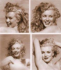 Marilyn Monroe at Tobey Beach. Photo by Andre de Dienes, Estilo Marilyn Monroe, Norma Jean Marilyn Monroe, Marilyn Monroe Photos, Divas, Hollywood Glamour, Classic Hollywood, Stars D'hollywood, Norma Jeane, Portraits