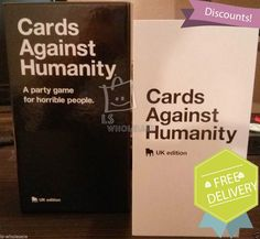 Cards Against Humanity UK Edition Brand New Sealed Free Delivery UK Seller | eBay
