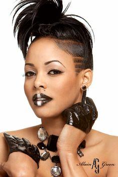 keyshia dior edgy haircut | thirstyroots.com: Black Hairstyles and Hair Care