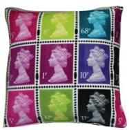 Postage-stamp-cushion