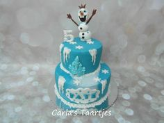 Frozen with Olaf by Carla Del Sasso