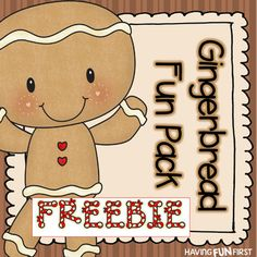 Gingerbread Fun Pack FREEBIE