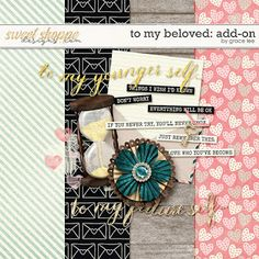 Designs by Grace Lee: Freebie: To My Beloved - Add-On