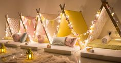 Sleepee Teepee - taking sleepovers to the next level of fabulous fun #Fun, #Parties, #Party