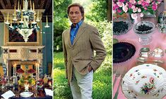 Hey, his design house designs amazingly beautiful cloting. inside the opulent home of iconic fashion designer Valentino #DailyMail