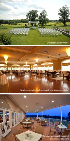 A truly unique Hudson Valley wedding venue:  The Links at Union Vale
