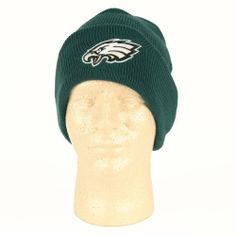 274a68707fb Philadelphia Eagles Classic Cuffed Knit Hat by Reebok.  11.99. Officially  licensed NFL apparel. One size fit most. Show your team spirit in this  awesome ...