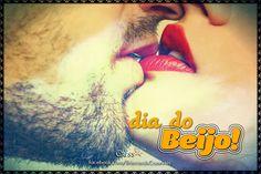 """Chegou o dia que todo beijoqueiro de carteirinha adora de paixão: o Dia do Beijo . Sim, senhor. Hoje, 13 de abril, é permitido """" arrebe..."""