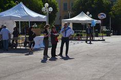 Journée Handisport Passion Partage, place d'Armes à Toulon, le 17 mai 2014. Discours des officiels