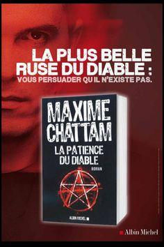 Maxime Chattam Roman, Albin Michel, Lus, Twitter, Cover, Books, Bookstores, Books To Read, Reading