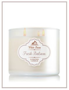 The invigorating scent of crisp eucalyptus, fir needles & cedarwood musk.