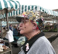 """""""Hat's"""" a good one. by annteebee, via Flickr"""