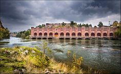 Image result for trollhättan water power plant