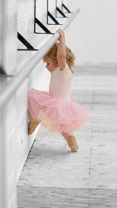 Cute baby ballerina....