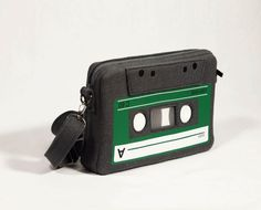Compact Cassette Felt Bag