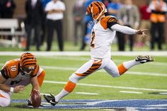 Mike Nugent does it again!  Cincinnati Bengals WIN vs. Detroit Lions - October 20, 2013