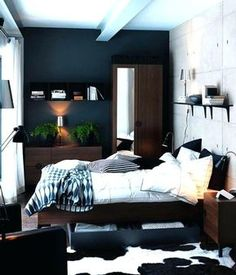 23 Best Young Man\'s Bedroom images | Bedrooms, Home bedroom, Bedroom ...