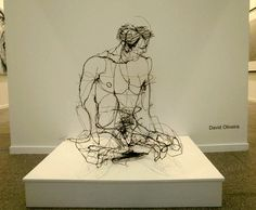 Wire Sculpting | Barbed Wire and Galvanized Wire Sculptures