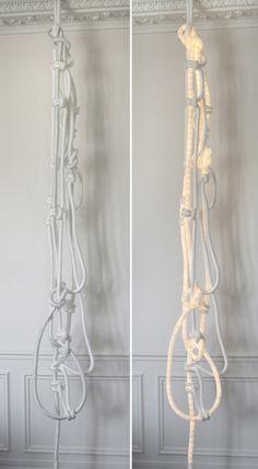 string light art installation - Google Search