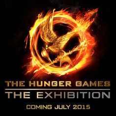 The Hunger Games: The Exhibition--Follow Katniss Everdeen's inspirational journey, from her humble beginnings in District 12 to her emergence as the Mockingjay, with this immersive interactive experience... Coming to Discovery Times Square in New York City on July 1, 2015! - http://www.thehungergamesexhibition.com