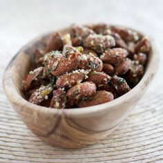 Savory roasted almonds aren't just tasty, they are also beautiful! Try ...