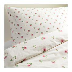 EMELINA KNOPP Pussilakana + 1 tyynyliina IKEA Piilopainonappien ansiosta peitto pysyy hyvin paikoillaan.