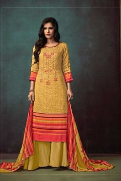 Daily Wear Cotton Satin Fancy Plaza Salwar Suits Collection ( Puls Size Available ) Cotton Salwar Kameez, Salwar Suits, Churidar, Anarkali, Suits For Women, Clothes For Women, Suits Online Shopping, Palazzo Suit, Embroidery Suits