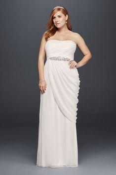 Plus Size Elopement Gowns - Wedding Dresses For Budget Brides