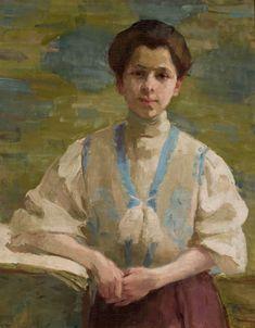 Olga Boznańska, Autoportret / Self- Portrait, 1893, property of the National Museum in Warsaw, photo: Wilczyński Krzysztof - photo 12
